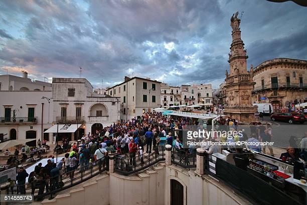 Ostuni: Italian square