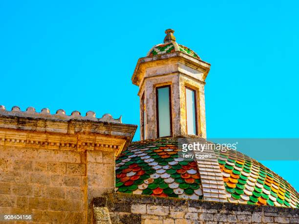 Ostuni. Puglia. Italy. Architectural detail of the 15th C Duomo / Cathedral