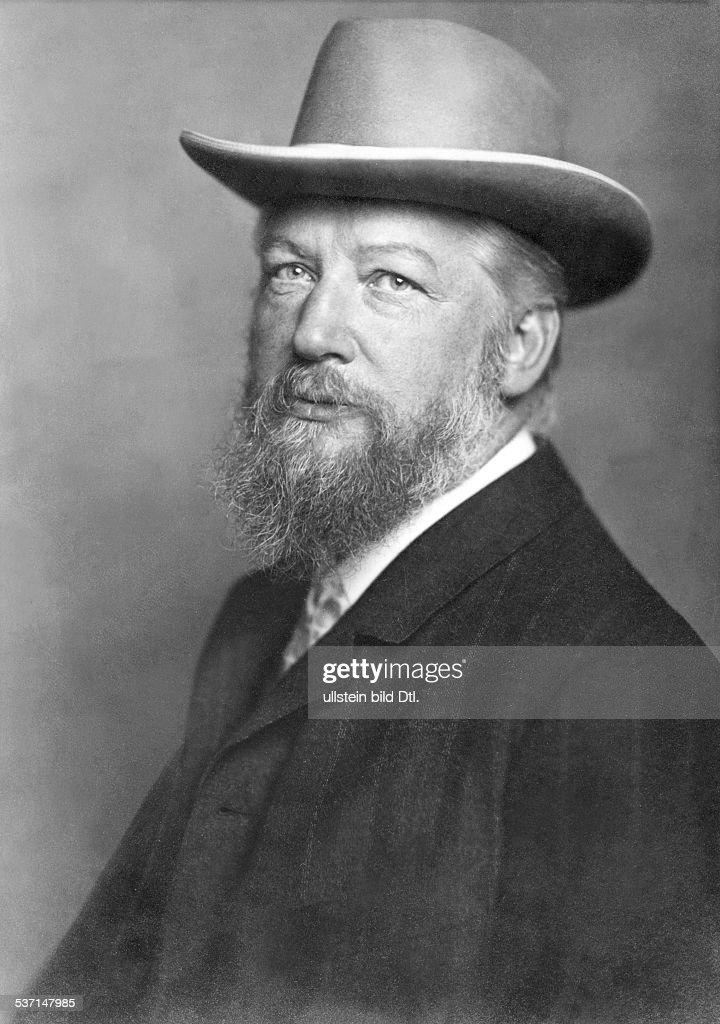 Ostwald, Wilhelm - Chemist, Philosopher, Germany,   (*02.09.1853-04.04.1932+)  , : News Photo