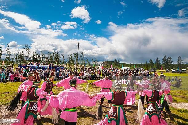 Osuokhay - ancient dance Yakuts - sun-worshipers