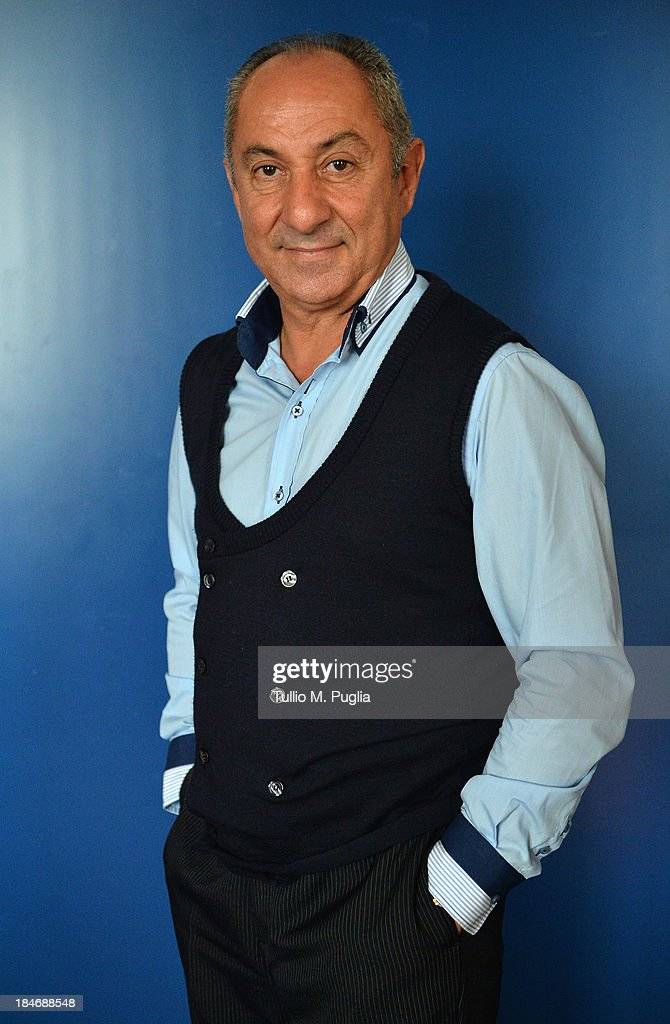 Osvaldo Ardiles poses for a portrait shoot prior to the 2013 Golden Foot Award on October 15, 2013 in Monte-Carlo, Monaco.