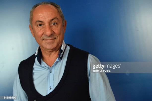 Osvaldo Ardiles poses for a portrait shoot prior to the 2013 Golden Foot Award on October 15 2013 in MonteCarlo Monaco