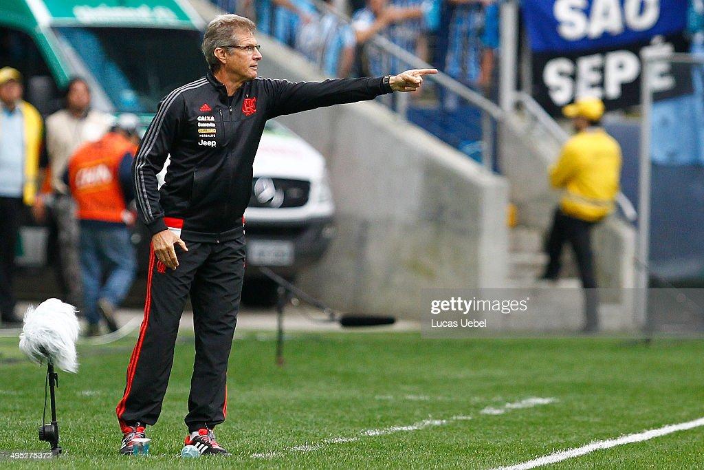 Gremio v Flamengo - Brasileirao Series A 2015