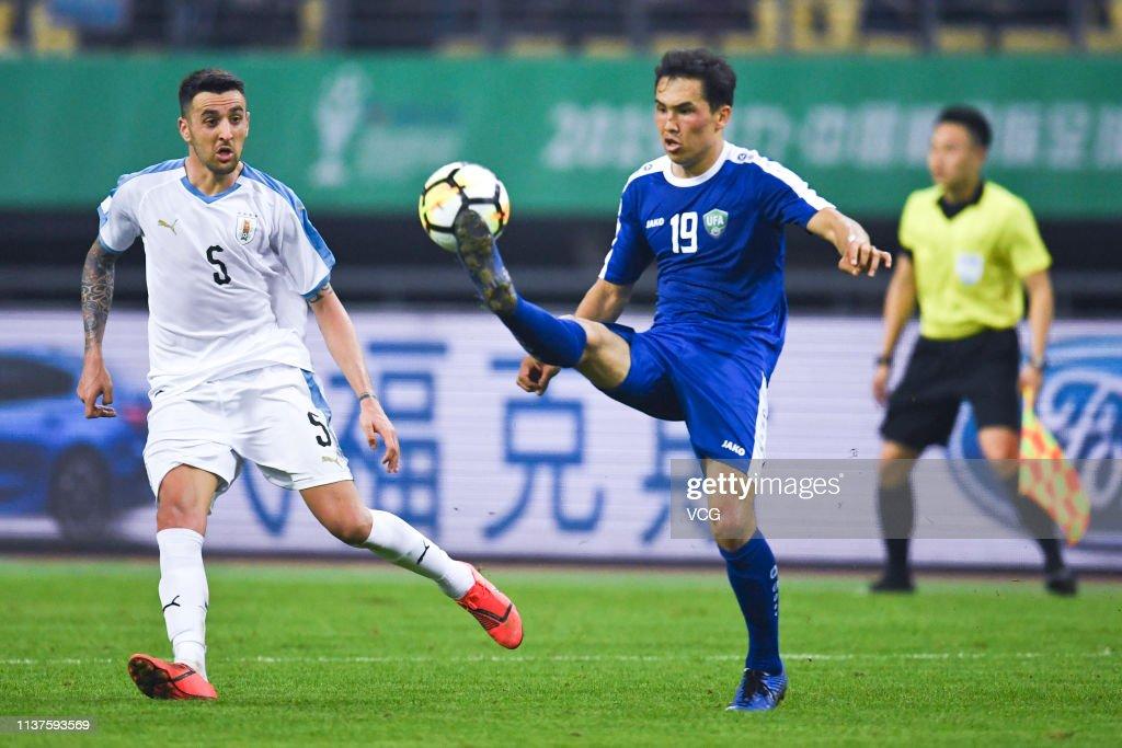 CHN: Uruguay v Uzbekistan - China Cup International Football Championship