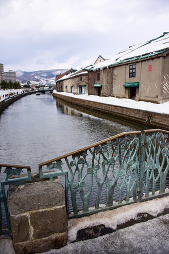 Otaru canal in winter - gettyimageskorea