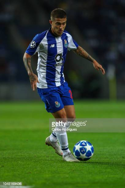 Otavio of FC Porto during the Group D match of the UEFA Champions League between FC Porto and Galatasaray at Estadio do Dragao on October 3 2018 in...