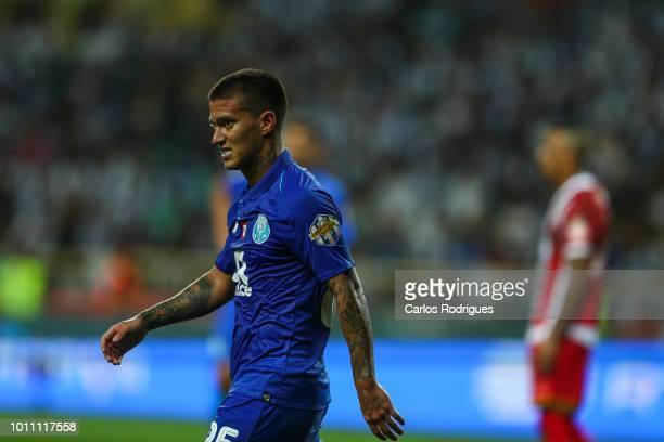 Otavio of FC Porto during the match between FC Porto and Desportivo das Aves for the Portuguese Super Cup at Estadio Municipal de Aveiro on August 4,...