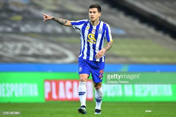 Otavio of FC Porto in action during the Taca de Portugal Semi-Final Second Leg match between FC Porto and SC Braga at Estadio do Dragao on March 3,...