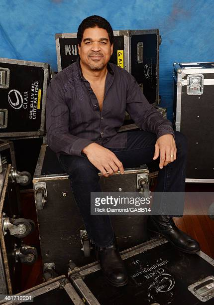 Oteil Burbridge poses for a portrait at All My Friends Celebrating the Songs Voice of Gregg Allman at The Fox Theatre on January 10 2014 in Atlanta...