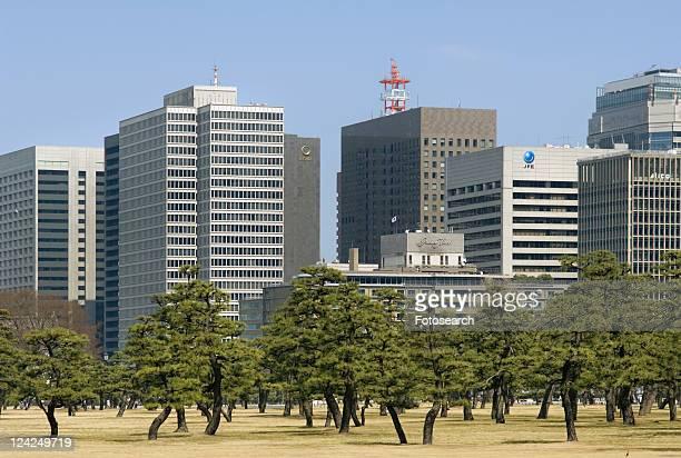otemachi - kanto region - fotografias e filmes do acervo