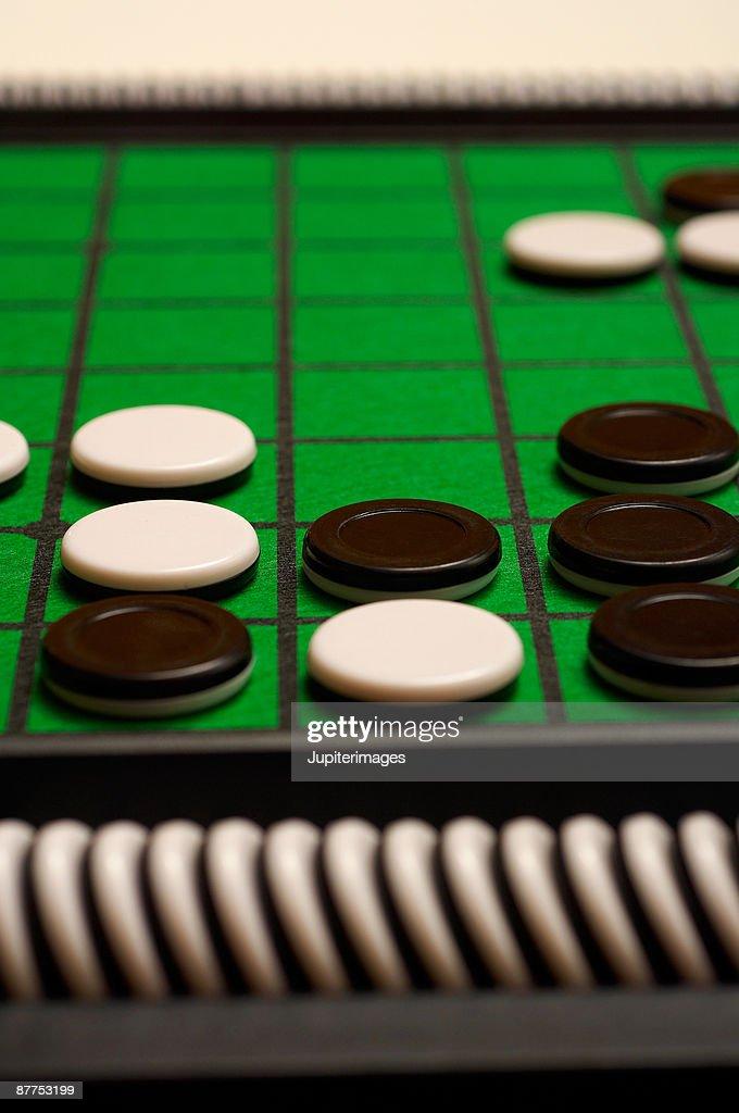 Othello boardgame : Stock Photo