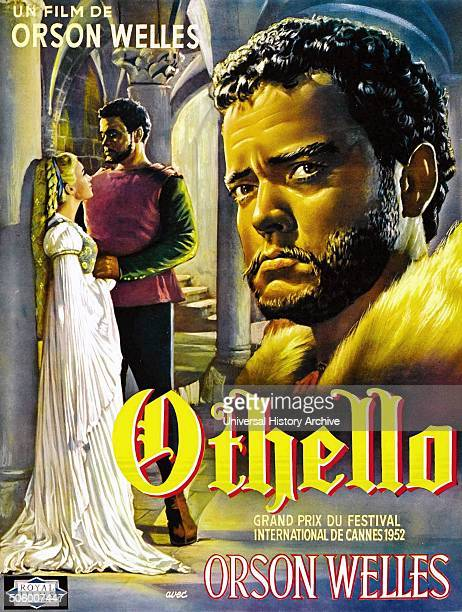 Othello is a 1952 drama film based on the Shakespearean play made by Mercury Productions Inc and Les Films Marceau and distributed by United Artists...