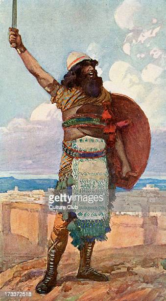 Othniel by J James Tissot Illustration to Book of Judges 39 'And when the children of Israel cried unto the Lord the Lord raised up a deliverer to...