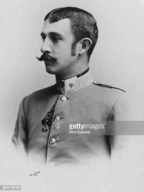 Othon' c1893 Otto Franz Joseph Karl Ludwig Maria Prince Imperial and Archduke of Austria Prince Royal of Hungary and Bohemia From the 2e collection...