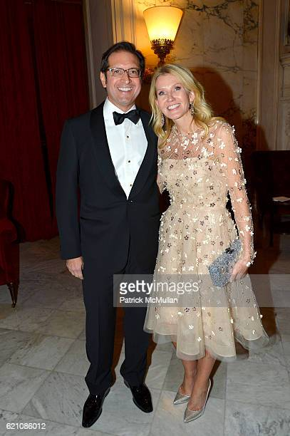 Othon Prounis and Kathy Prounis attend the Lenox Hill Neighborhood House Associates Committee Fall Benefit Celebrate the Neighborhood Dinner and...