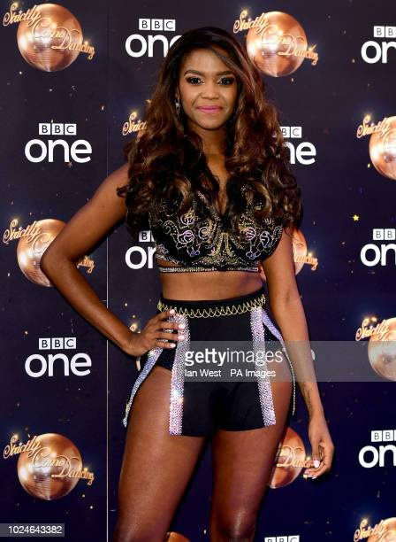 Oti Mabuse at the launch of Strictly Come Dancing 2018 held at The Broadcasting House London