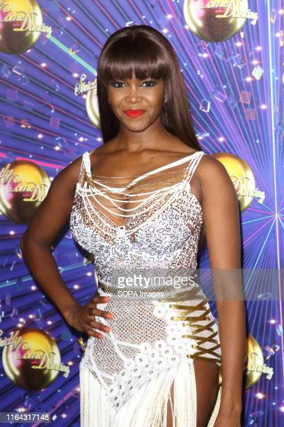 Oti Mabuse at the Strictly Come Dancing Launch at BBC Broadcasting House in London