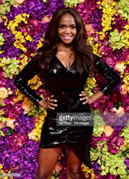 Oti Mabuse attending the Crazy Rich Asians Premiere held at Ham Yard Hotel London