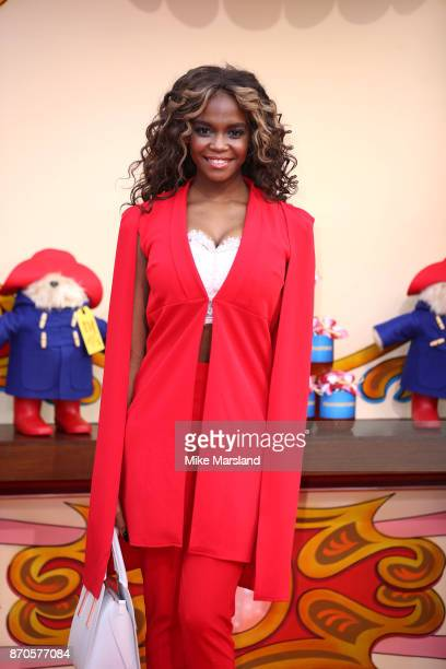 Oti Mabuse attends the 'Paddington 2' premeire at BFI Southbank on November 5 2017 in London England