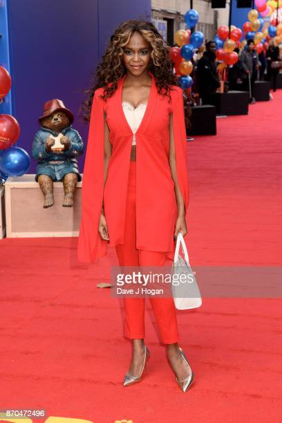 Oti Mabuse attends the 'Paddington 2' premiere at BFI Southbank on November 5 2017 in London England