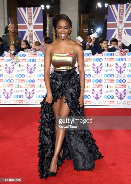Oti Mabuse attends the Pride Of Britain Awards 2019 at The Grosvenor House Hotel on October 28 2019 in London England