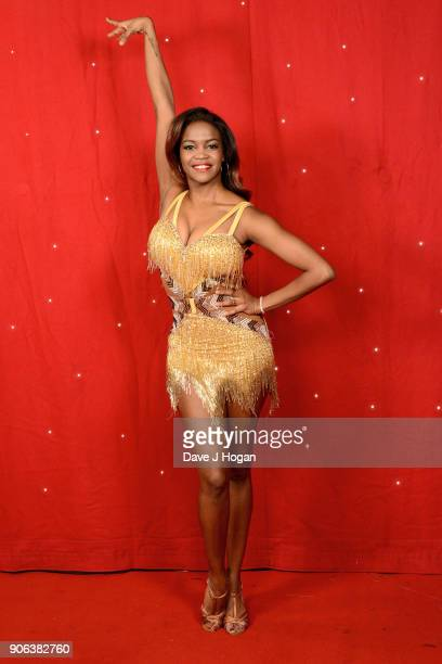 Oti Mabuse attends the 'Strictly Come Dancing' Live photocall at Arena Birmingham on January 18 2018 in Birmingham England Ahead of the opening on...