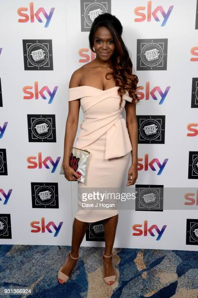 Oti Mabuse attends the TRIC Awards 2018 held at The Grosvenor House Hotel on March 13 2018 in London England