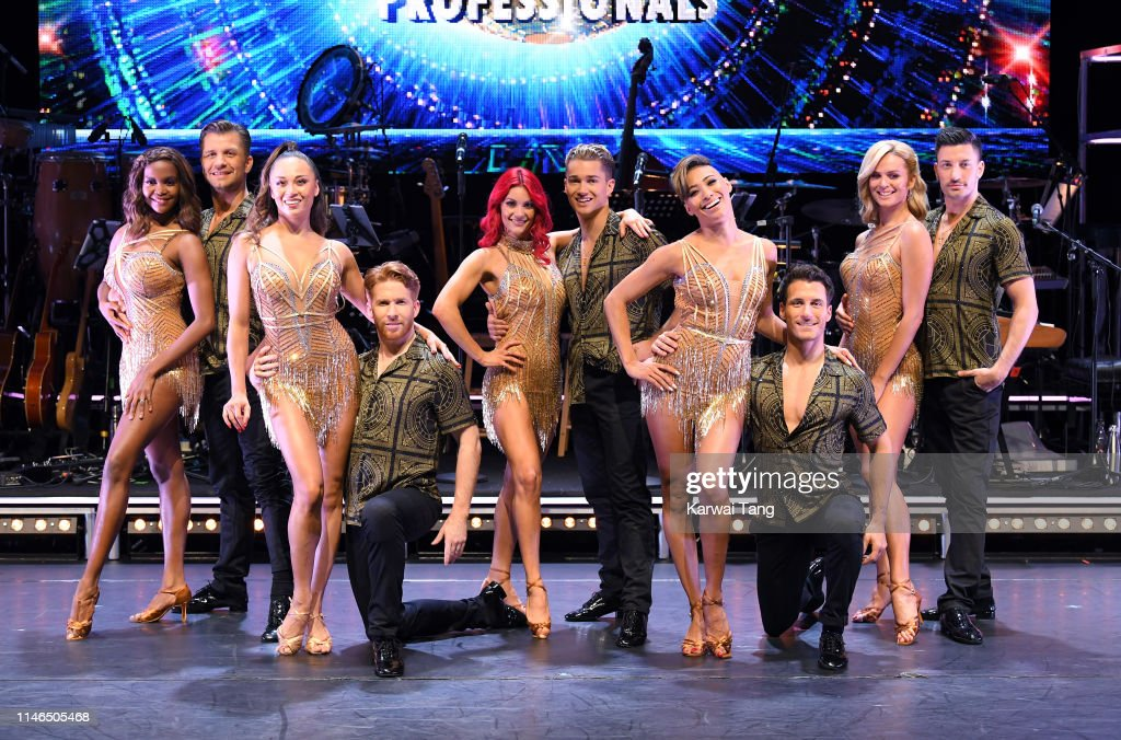Strictly Come Dancing: The Professionals - Photocall : Foto jornalística