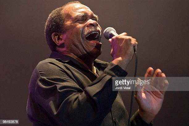 Otis Clay performs on stage during Day 1 of Cognac Blues Passions Festival 2006 on July 27 2006 in Cognac France