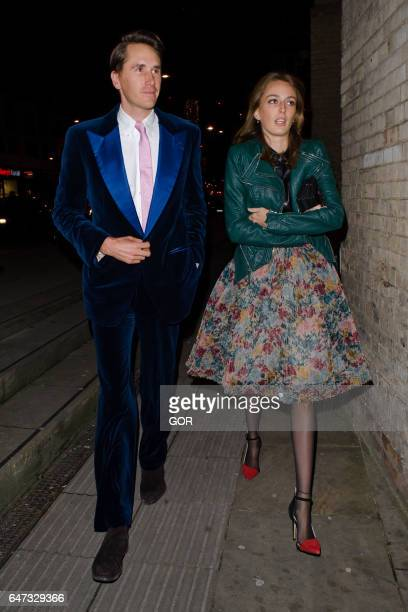 Otis Ferry and Guest attending Save the Children's Night of Country on March 2 2017 in London England