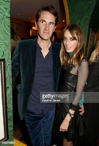 Otis Ferry and Lady Alice Manners at the LOVE and Burberry London Fashion Week Party at Annabel's celebrating Katie Grand and Kendall Jenner's...