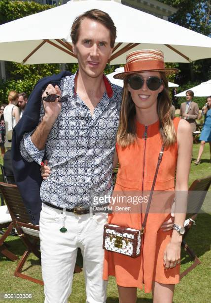 Otis Ferry and Lady Alice Manners attend Cartier Style Et Luxe at the Goodwood Festival Of Speed on July 2 2017 in Chichester England