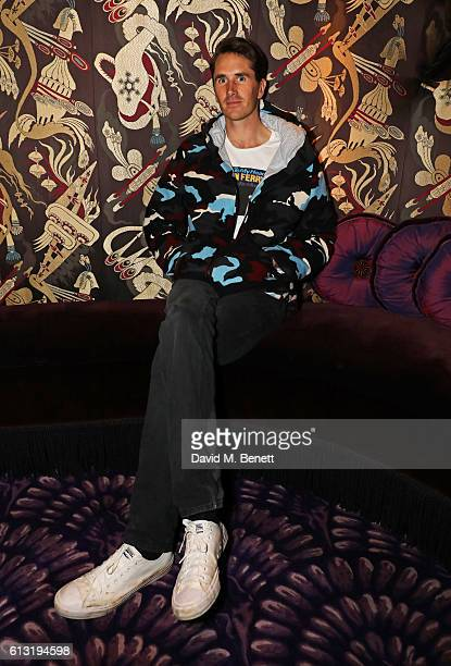 Otis Ferry attends the Moncler Freeze For Frieze Dinner Party at Park Chinois on October 7 2016 in London United Kingdom
