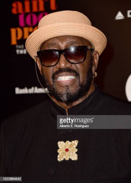 Otis Williams attends the Opening Night of Ain't Too Proud The Life And Times Of The Temptations at the Ahmanson Theatre on August 24 2018 in Los...