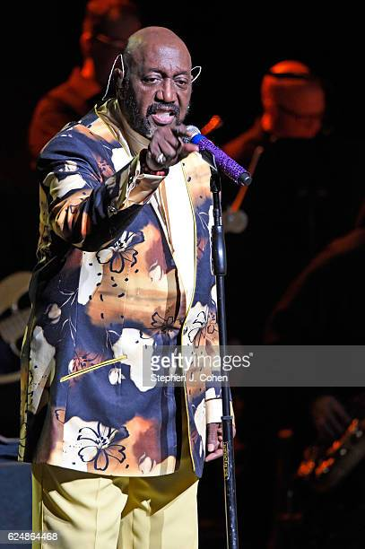Otis Williams of The Temptations perform at Whitney Hall on November 20 2016 in Louisville Kentucky