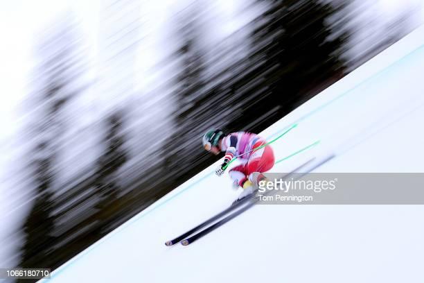 Otmar Striedinger of Austria skis during the Audi FIS Alpine Ski World Cup Men's Downhill Training on November 28 2018 in Beaver Creek Colorado
