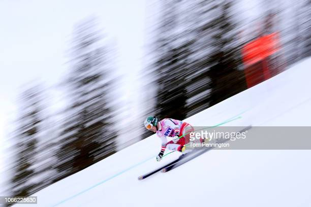 Otmar Striedinger of Austria skis during the Audi FIS Alpine Ski World Cup Men's Downhill Training on November 28, 2018 in Beaver Creek, Colorado.