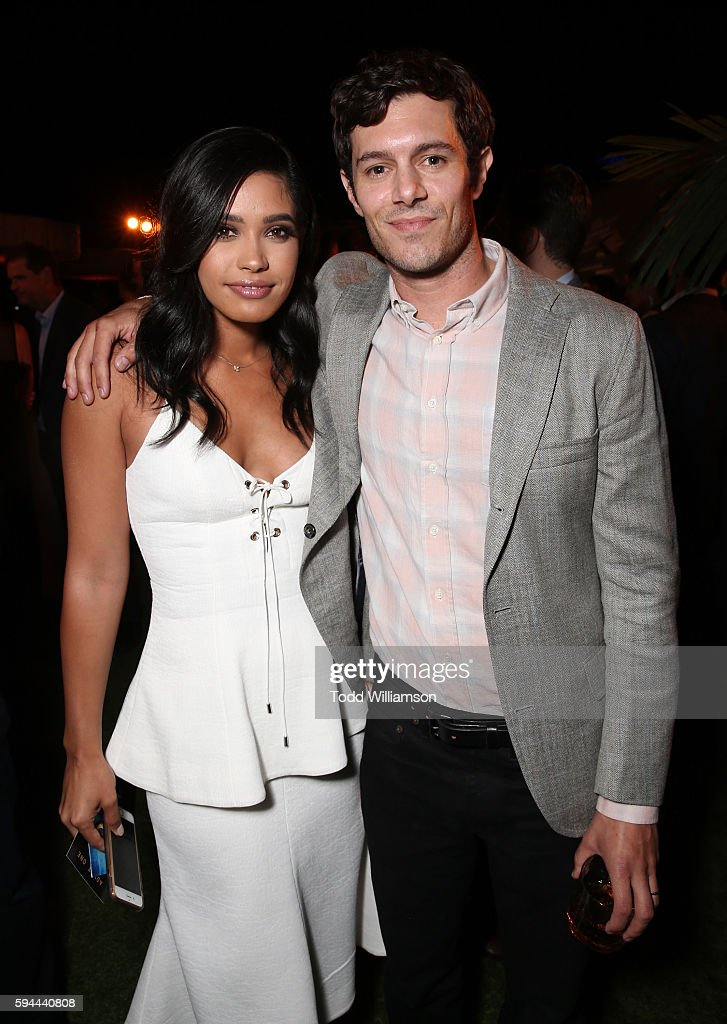Otmara Marrero and Adam Brody attend the after party for the premiere pf Crackle's 'Startup' on August 23, 2016 in Los Angeles, California.