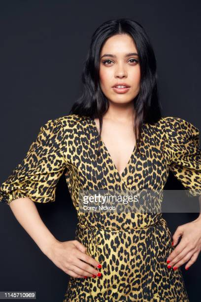 Otmara Marrero of film 'Clementine' poses for a portrait during the 2019 Tribeca Film Festival at Spring Studio on April 28 2019 in New York City