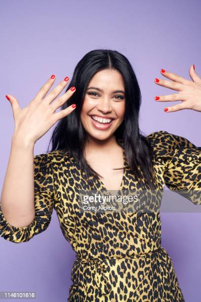 Otmara Marrero of the film 'Clementine' poses for a portrait during the 2019 Tribeca Film Festival at Spring Studio on April 28 2019 in New York City