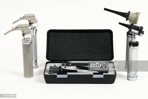 otoscope set - photostock stock pictures, royalty-free photos & images