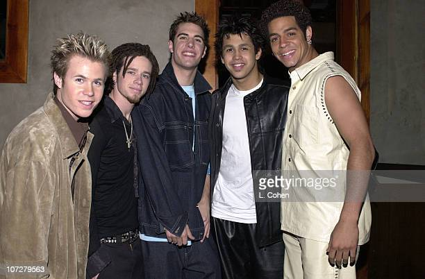 OTown during The 28th Annual American Music Awards Columbia Records After Party at Las Palmas in Hollywood California United States