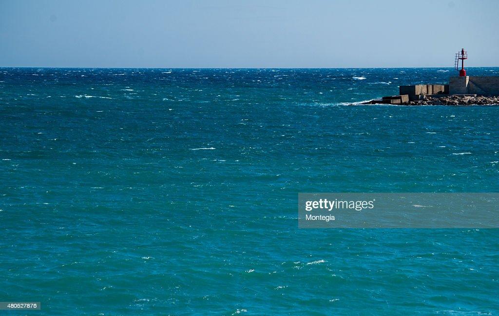 Otranto harbour : Stock Photo