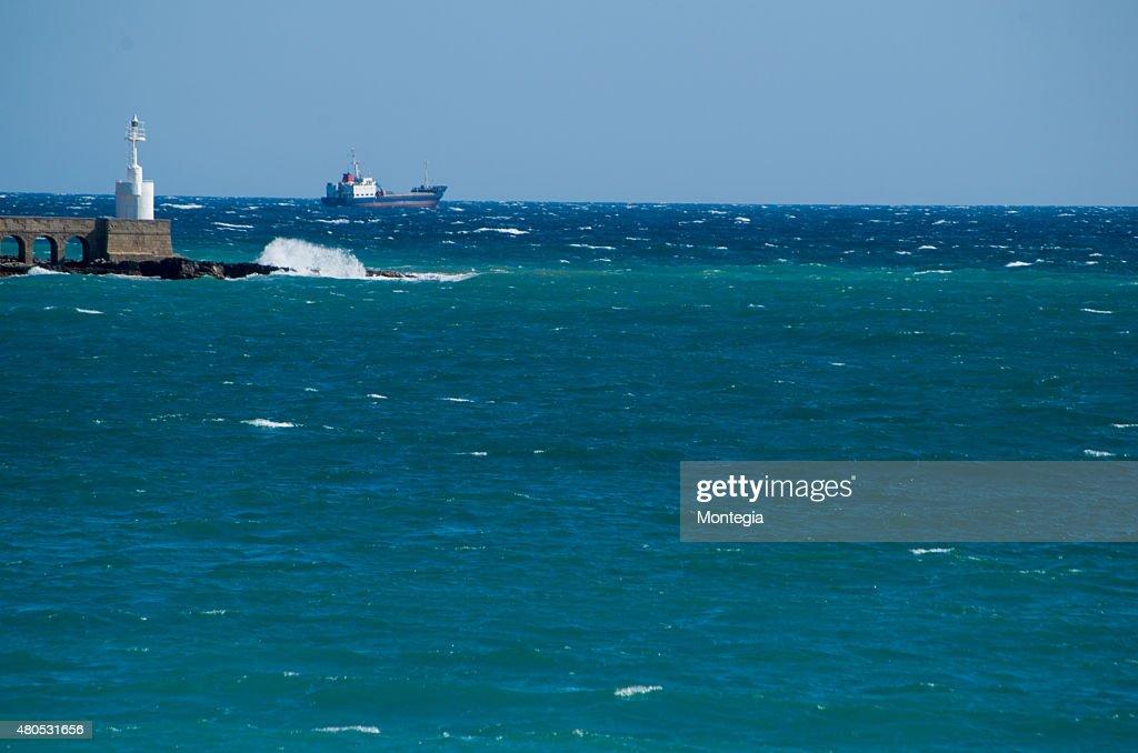 Otranto harbour : Stock-Foto