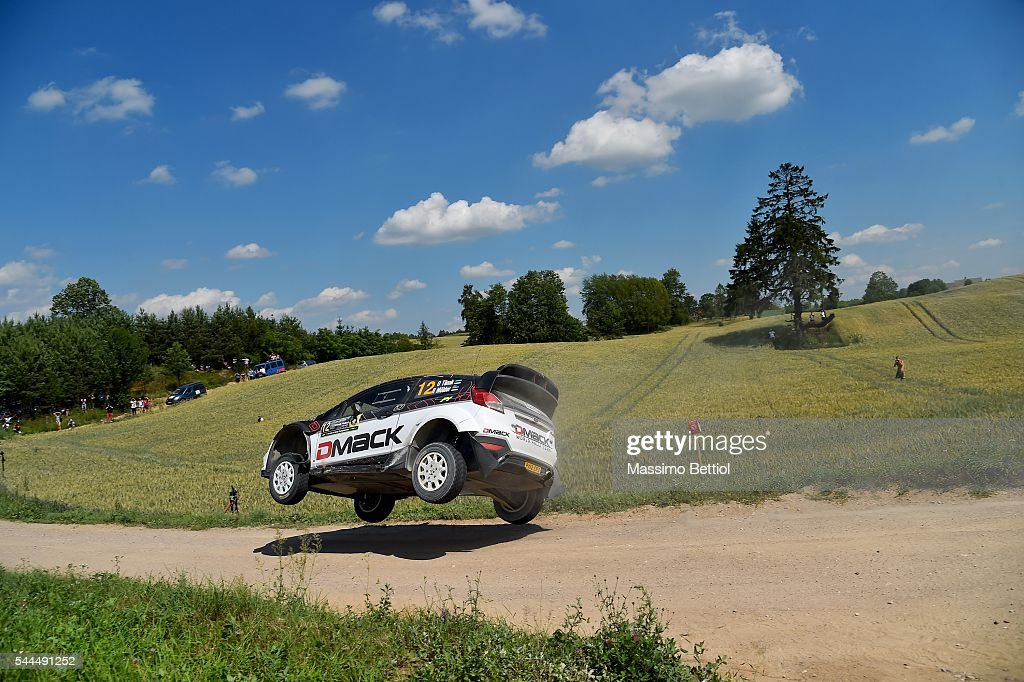 FIA World Rally Championship Poland - Day Two : News Photo