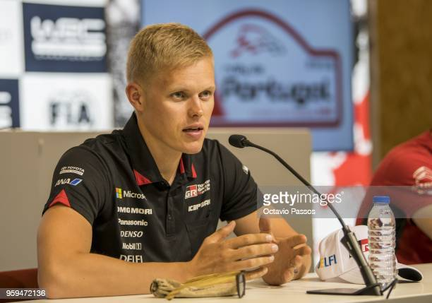 Ott Tanak of Estonia during the press conference of the WRC Portugal on May 17 2018 in Porto Portugal