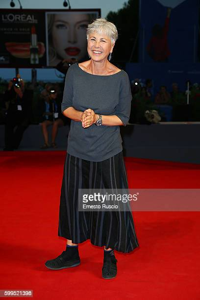 Ottavia Piccolo attends the premiere of 'Piuma' during the 73rd Venice Film Festival at Sala Grande on September 5 2016 in Venice Italy