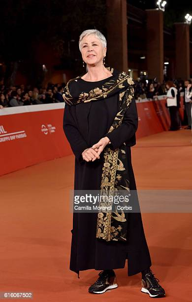 Ottavia Piccolo walks a red carpet for '7 Minuti' during the 11th Rome Film Festival on October 21 2016 in Rome Italy