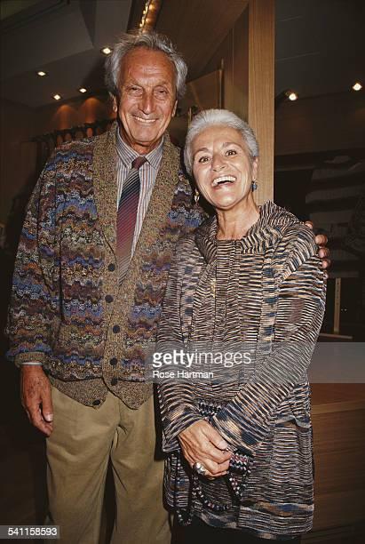 Ottavio and Rosita Missoni, USA, circa 1995.