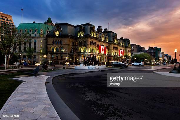 Ottawa in dusk
